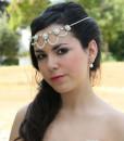 Wedding Headpiece pearls,Bridal headband,Rhinestones,1920s,wedding head piece