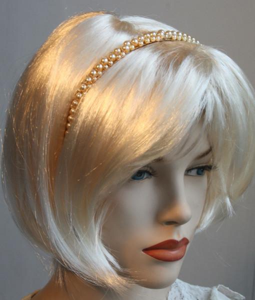 Bridal Pearls Headband,Hair band, pearly,hair accessories – Mily